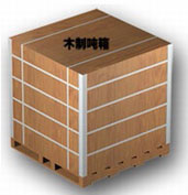 Wooden Ton-box for Tomato Paste