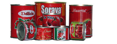 Canned Tomato Paste from Yafod